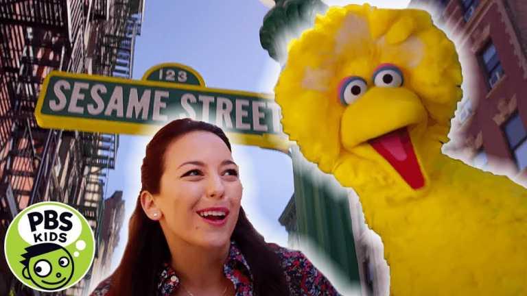 Sesame Street | Here we go with Big Bird and Nina! | PBS KIDS