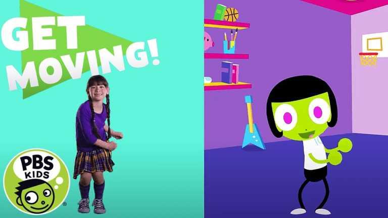 PBS KIDS: Get Moving!   Hip, Hip Hooray!