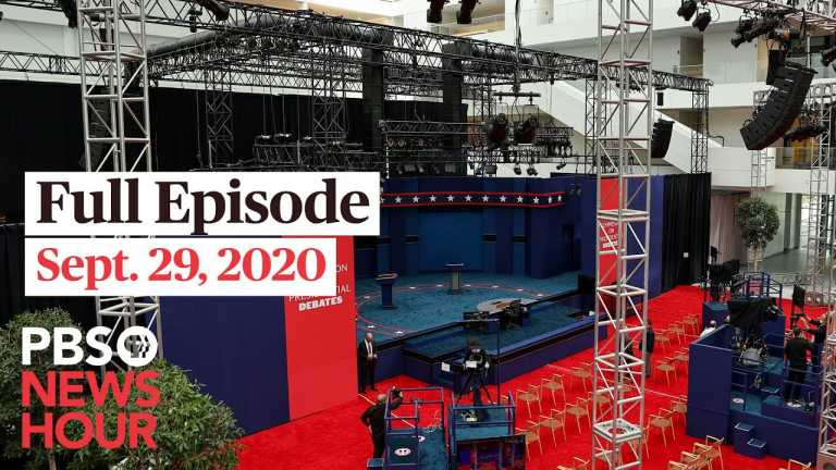 PBS NewsHour full episode, Sept. 29, 2020