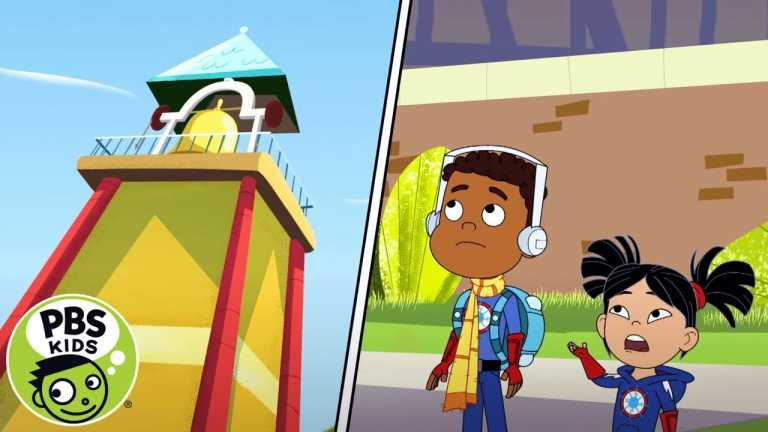 Hero Elementary | Get to the Bell Tower! | PBS KIDS