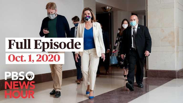 PBS NewsHour full episode, Oct. 1, 2020