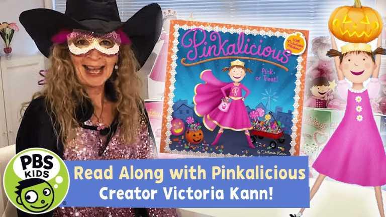 🎃🍬 Pink or Treat   Pinkalicious READ ALONG!   PBS KIDS