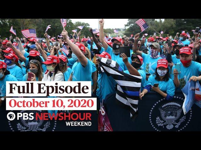 PBS NewsHour Weekend Full Episode October 10, 2020
