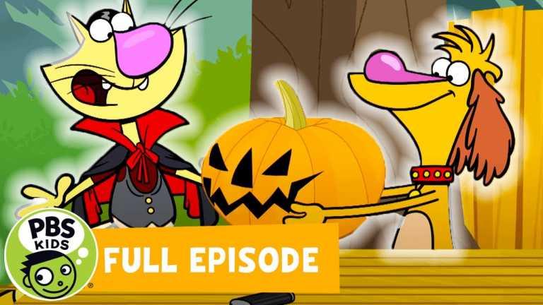 Nature Cat FULL EPISODE | Runaway Pumpkin / Lady Bug Tough | PBS KIDS