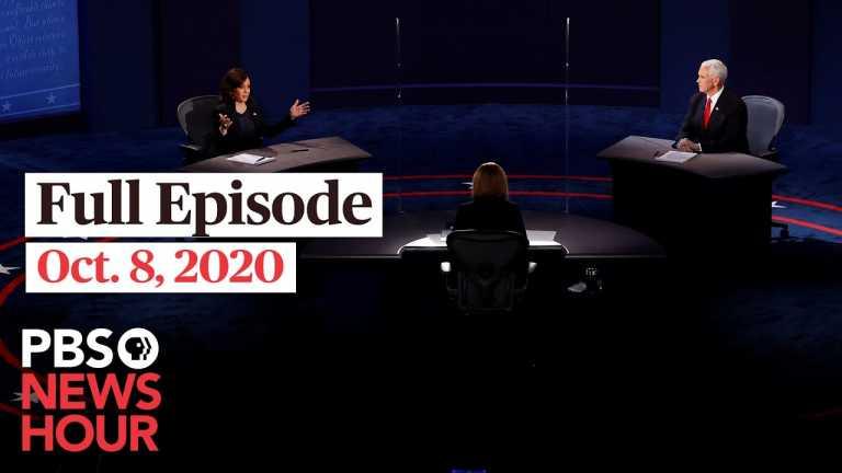 PBS NewsHour full episode, Oct. 8, 2020