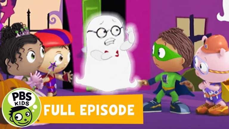 SUPER WHY! FULL EPISODE | The Ghost Who Was Afraid of Halloween | PBS KIDS