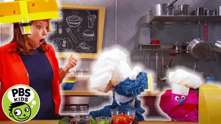 Sesame Street | Monster Foodie Truck: Zachos with Ellie Kemper | PBS KIDS