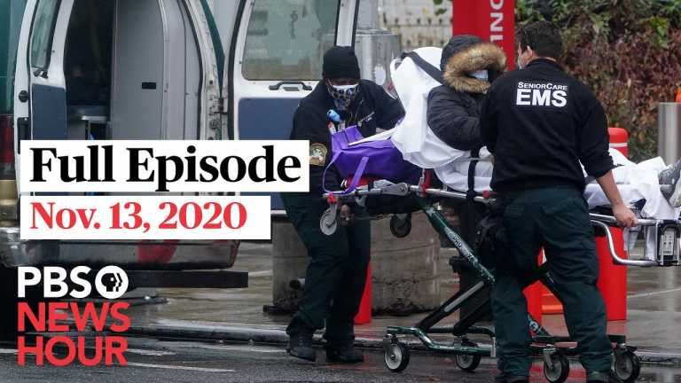 PBS NewsHour full episode, Nov. 13, 2020