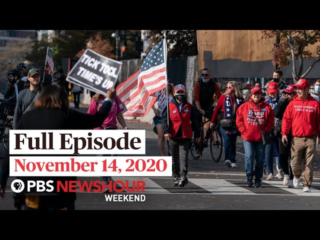 PBS NewsHour Weekend Full Episode November 14, 2020