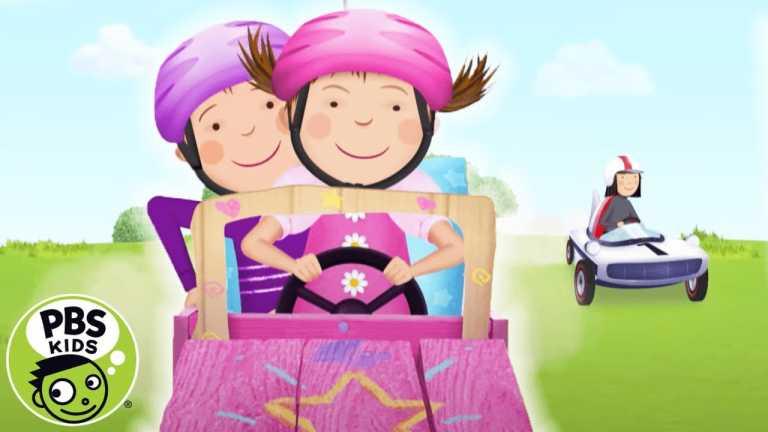 Pinkalicious & Peterrific | Pinkalicous & Peter's Go Kart Race! | PBS KIDS