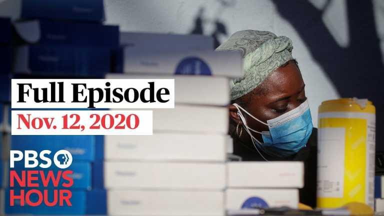 PBS NewsHour full episode, Nov. 12, 2020