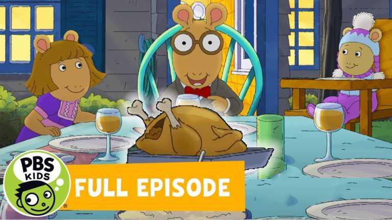 Arthur MOVIE | An Arthur Thanksgiving | PBS KIDS