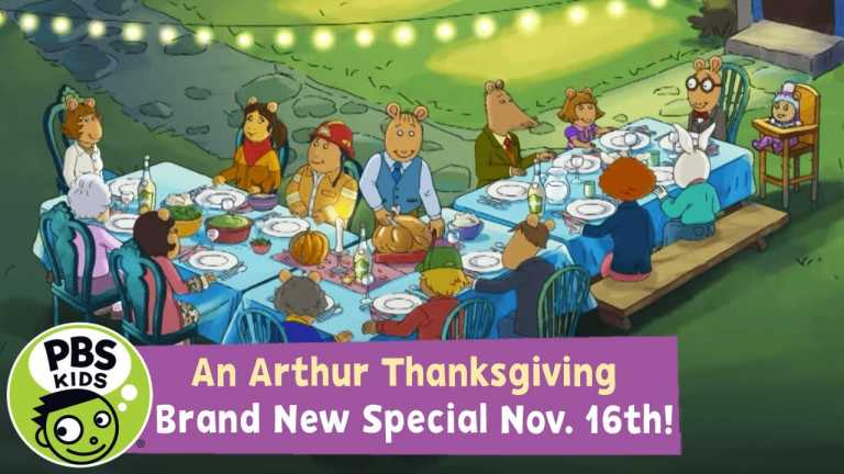 An Arthur Thanksgiving!   A Brand New Special on November 16th!   PBS KIDS