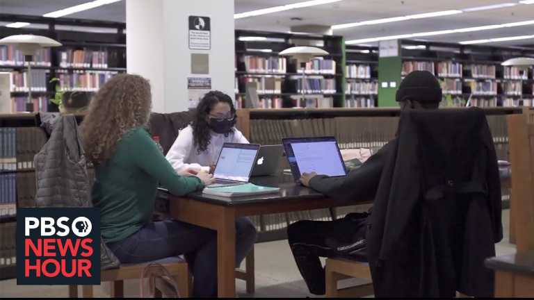 How the pandemic highlights racial disparities in higher education