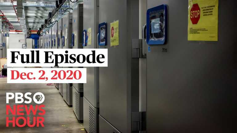 PBS NewsHour full episode, Dec. 2, 2020