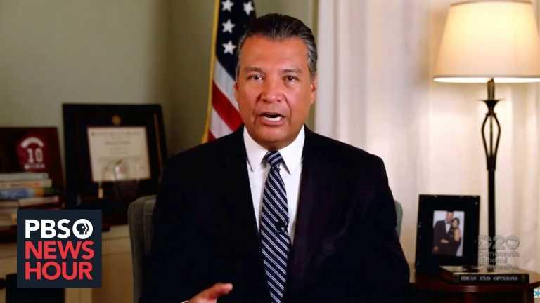 News Wrap: Alex Padilla is tapped to fill Kamala Harris' Senate seat