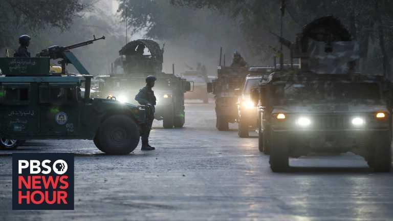 News Wrap: ISIS attackers kill at least 22 at Kabul University