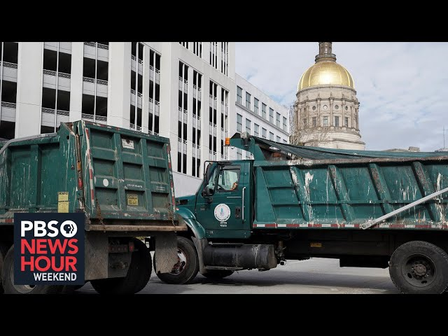 Dispatches from MI, GA, OH: States step up security ahead of inauguration