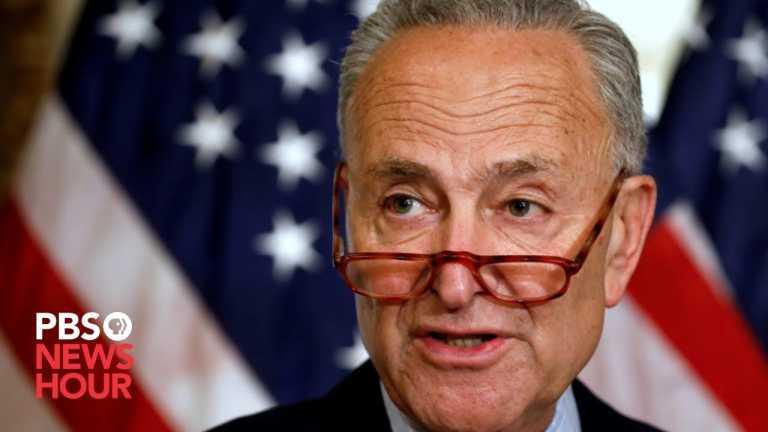 WATCH: Senate Minority Leader Schumer holds Senate Gallery news briefing