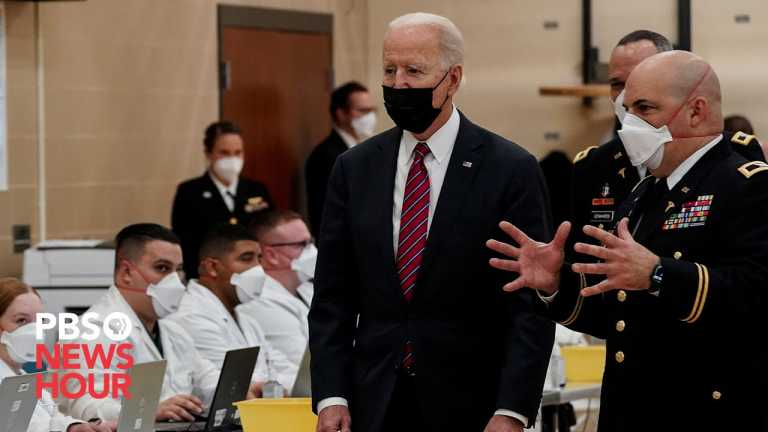 WATCH: Biden visits wounded soldiers at Walter Reed