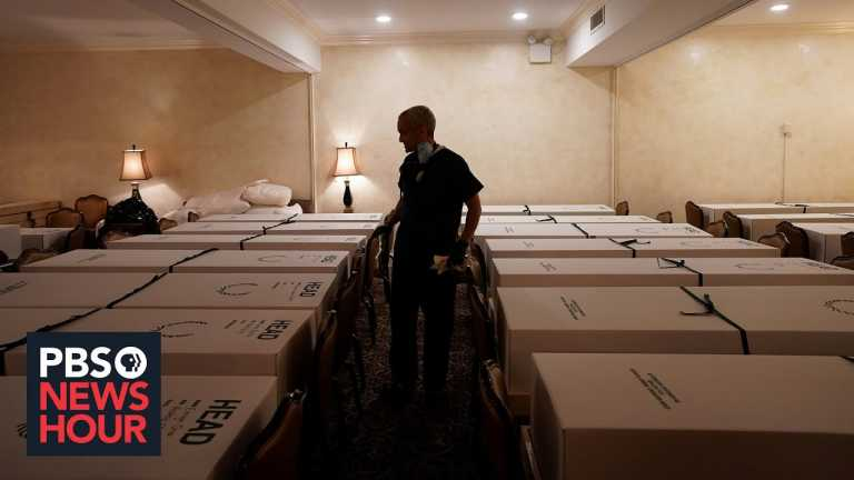 News Wrap: U.S. surpasses 400,000 deaths from COVID-19