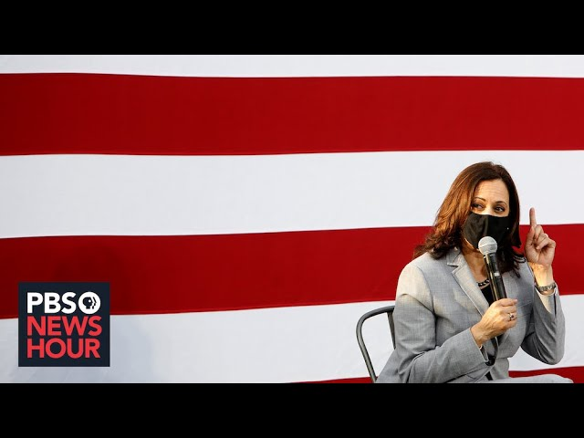 WATCH: Kamala Harris speaks for the first time as vice president-elect