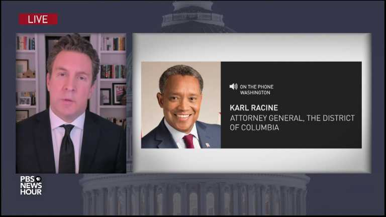 WATCH: Mob insurrection of U.S. Capitol is 'American tragedy,' D.C. attorney general says