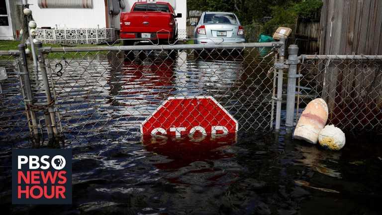 News Wrap: Tropical Storm Eta heads for 2nd strike on Florida