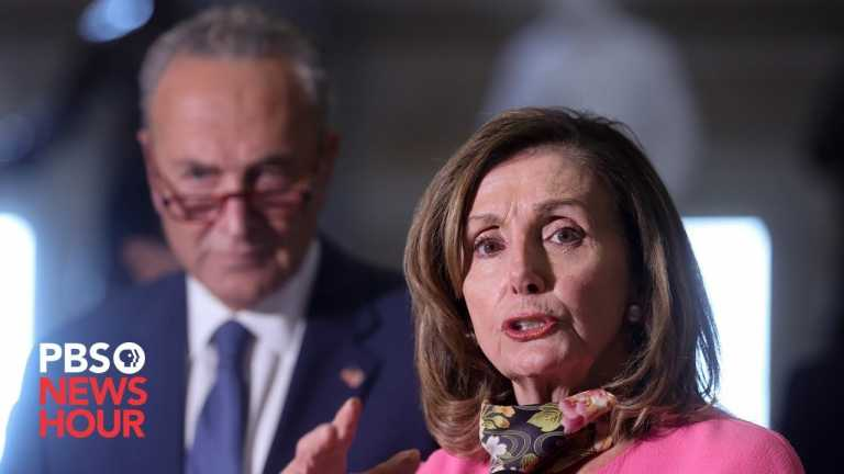 WATCH: House Speaker Pelosi and Minority Leader Schumer hold news briefing