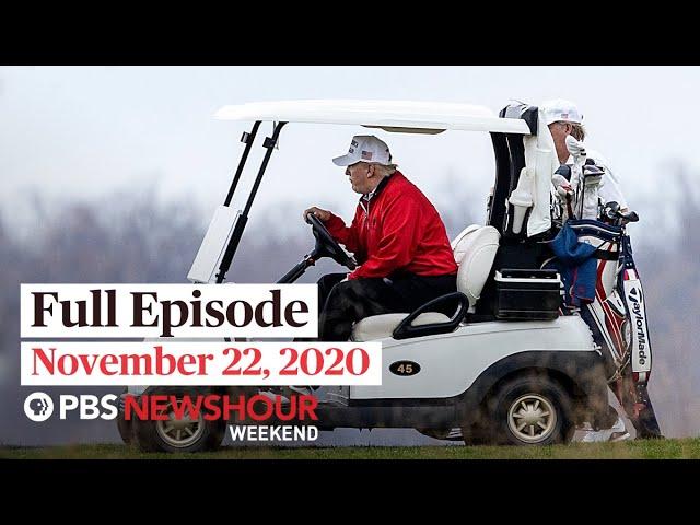 PBS NewsHour Weekend Full Episode November 22, 2020