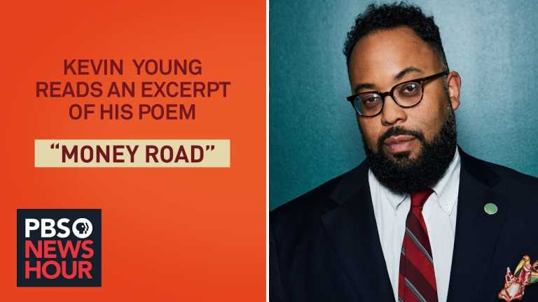 Kevin Young reads an excerpt of his poem 'Money Road'