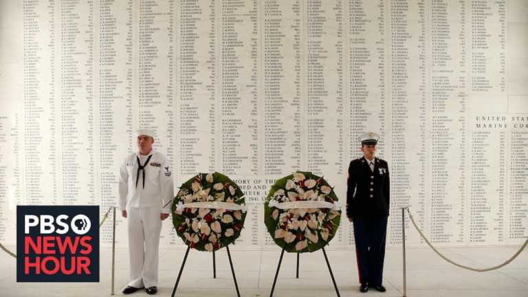 WATCH LIVE: U.S. Navy lays wreath to remember anniversary of Pearl Harbor attacks