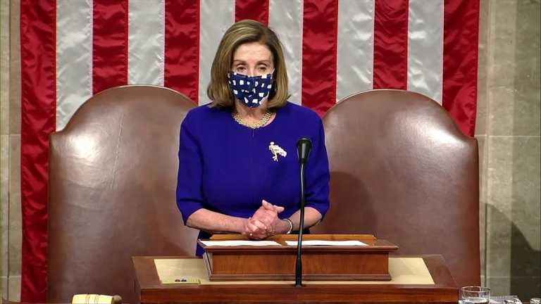 WATCH: Congress won't back down, Pelosi says as House reconvenes