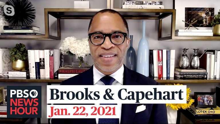 Brooks and Capehart on Biden's agenda and Trump's impeachment trial