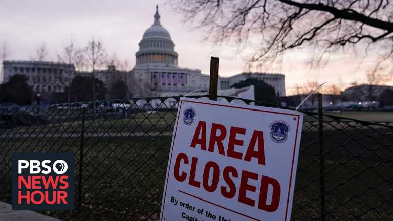 After failed insurrection, an unprecedented show of force in the nation's capital