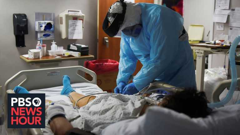 In El Paso, hospitals are rushing to accommodate COVID-19 surge