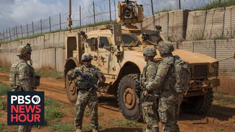U.S. begins withdrawing troops from Somalia, but regional hurdles remain