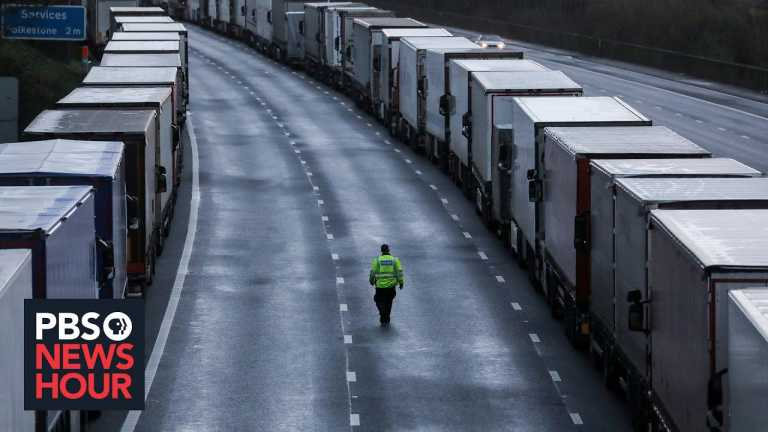 Brexit and border closures create dual challenges in Britain