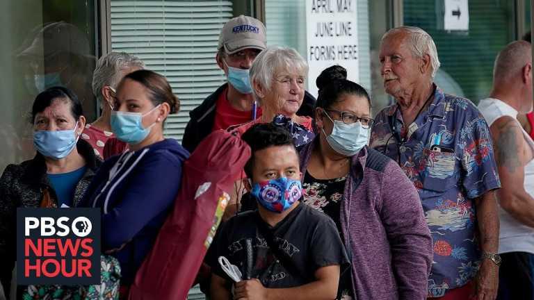 News Wrap: New unemployment numbers underscore the pandemic's economic damage