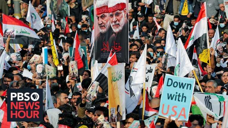 Pro-Iran militias in Iraq grow increasingly hostile toward the U.S.