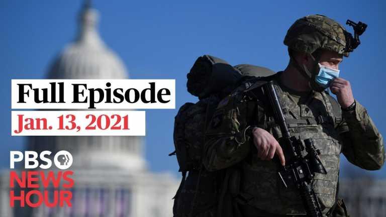 PBS NewsHour West live episode, Jan. 13, 2021