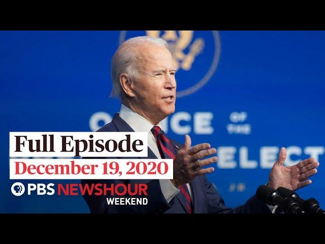 PBS NewsHour Weekend Full Episode December 19, 2020