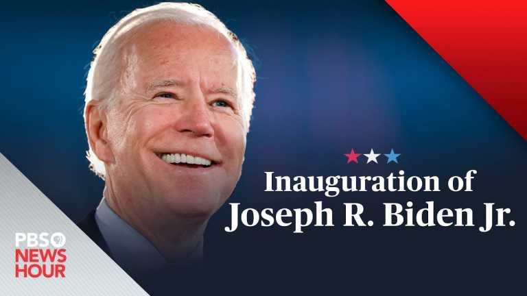WATCH LIVE: The inauguration of Joe Biden and Kamala Harris – PBS NewsHour special coverage