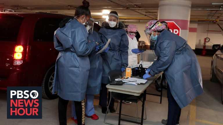 News Wrap: COVID-19 deaths in the U.S. reach a new high