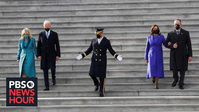 Biden calls for unity in a deeply divided nation