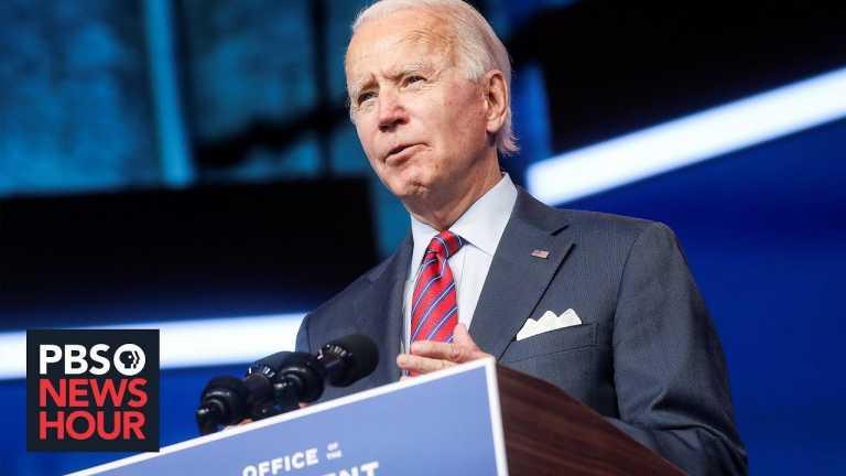 Biden's transition pushes ahead amid grim economic outlook