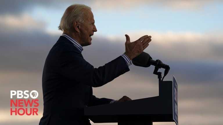 WATCH: Biden gives remarks in Wilmington, Delaware