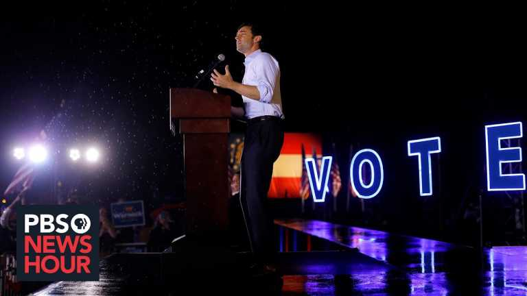 U.S. Senate hangs in the balance as candidates make final push in Georgia