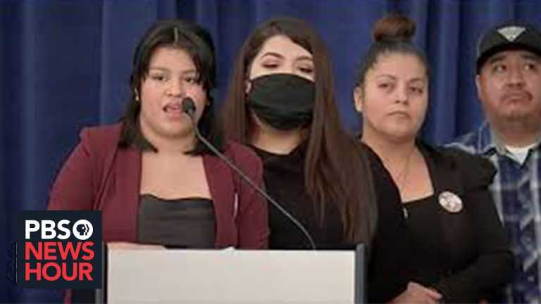 WATCH: The family of Vanessa Guillén, Army soldier killed at Fort Hood, hold a news presser