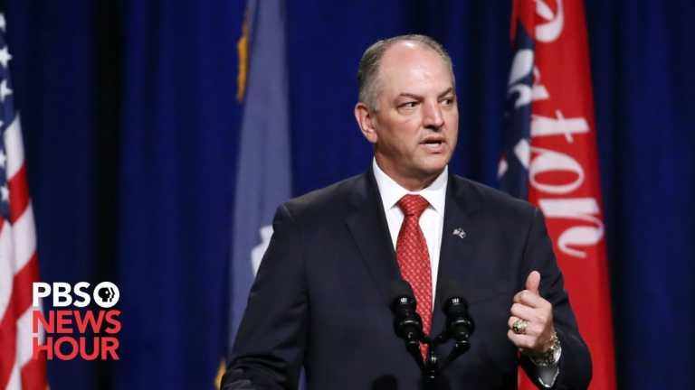 WATCH: Louisiana Governor John Bel Edwards gives hurricane and coronavirus update